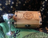 Treasure Chest Altar Box and Chalice Set