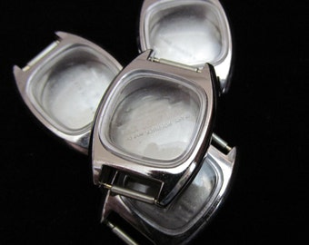 Steampunk Matching Watch Cases NOS Vintage Antique Altered Art Industrial AR 47