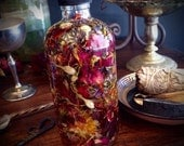 Magic Potion Oil Blend 4oz Uniquely Blended for You with Alchemical Herbs, Heartwoods, Crystals, Essential Oils, Absolutes