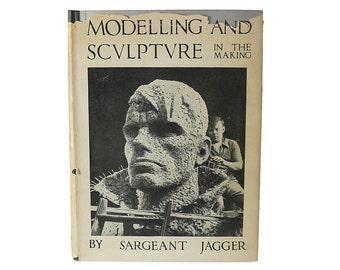 1930s Modelling & Sculpture Book, Vintage Art, Sargeant Jaggar