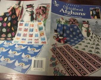 Crochet Patterns Christmas Afghans Annie's Attic 871711 Eleanor Albano-Miles  Crochet Pattern Leaflet HTF