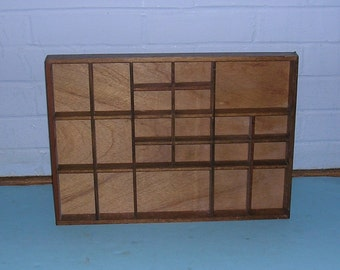 Antique Vintage Knick Knack Shelf Vintage Shadow Box