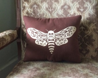 Death Moth Pillow