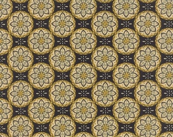 Bee Creative Ebony Medallions 19755 15 | Deb Strain Designer | Moda Quilting fabric