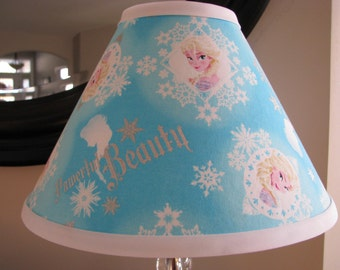 Frozen Lamp shade