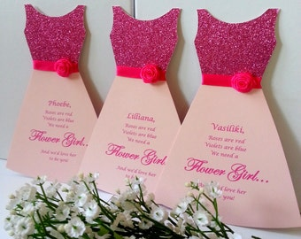 Will you be my Flower Girl,Will you be our Flower Girl Card