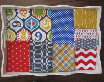 Carnival Numbers Baby Blanket Made to Order