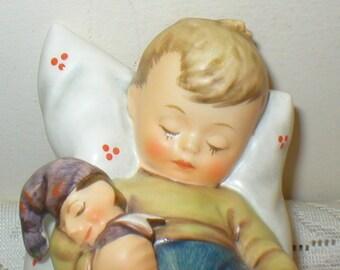 Goebel Just Dozing Figurine MJ Hummel Figure First Issue Vintage
