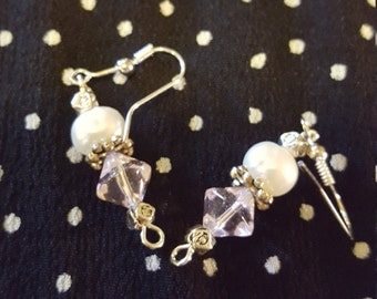 Cultured Pearl with Pink