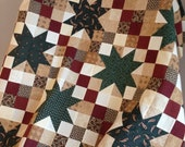 """Road to Pineberry Trail Unfinished Lap Quilt Top - 41"""" x 57"""""""