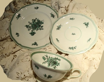 CHIPPENDALE Rosenthal Fine Porcelain Tea Set Of Three Briidesmaid Luncheon Gift Wedding