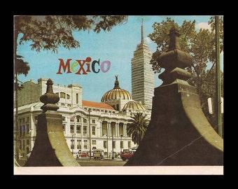 Mexico - Vintage Travel Book c. 1970s
