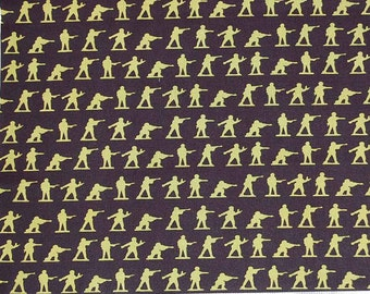 Riley Blake Military Max Bella Blvd. C 4372 Cotton Quilting Fabric By The Yard