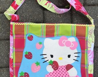 Hello Kitty strawberry tshirt bag