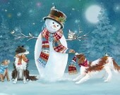 Christmas cards sold on behalf of Halkida Greek Animal Rescue charity
