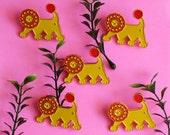 Little Lion Lapel Pin