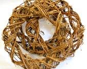 Round Vine Wreath - Rustic Wedding Decor - Wedding Decorations - Door Wreath - Vine Wreath - Rustic Home Decor