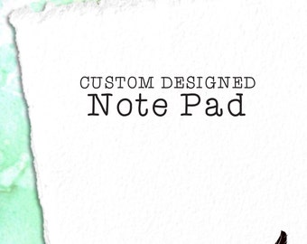 Custom Notepad, 5x7