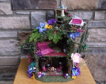 Fairy Play House with LED lights