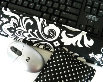 Ergonomic Wrist Rests Support Keyboard Mouse, heat pack cold pads, tech accessories, tech lover, fall fashion desk set Friend Coworker Gift