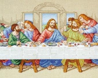 Cross Stitch Kit, The Last Supper