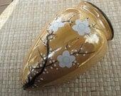 Vintage Wall Pocket Vase, Japan