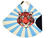 Tiger Cape - Tiger Circus Costume - Boy Gift - Blue Super Cape - Superhero Cape - Christmas Gift Boys - Holiday Gift Boys - Tiger Gift