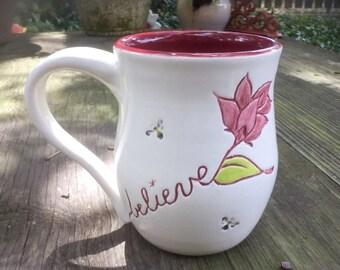 Handmade Inspirational Mug
