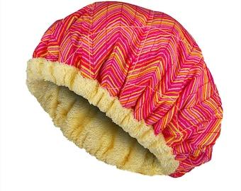 Deep Conditioning Heat Caps - Natural Hair Repair Treatment - LEMONADE Reversible Hot Head