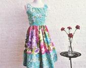 Spring belle { teal blossom }