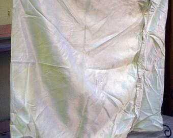 Vintage Satin Pillow Cover