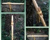 Primavera Wood Native American Flute in A Minor