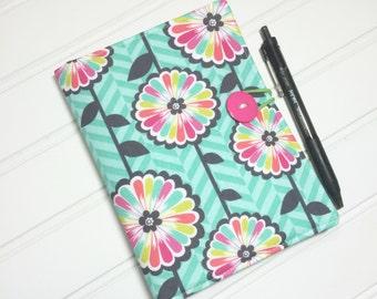 Mini Shopper - Notepad holder List taker - Circus Floral