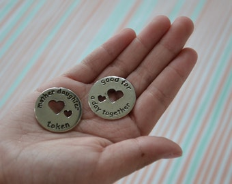Mother and Daughter Token (one token)