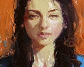 Original Oil Painting - Choppy