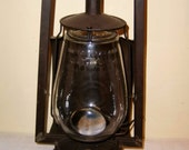 Railroad Lantern Dietz Buckeye Dash Bull's Eye Antique Lamp Lighting Rustic Tin