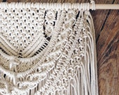 CUSTOM LISTING For JEMILLY Macrame Wall Hanging, Macrame, Bohemian, Wall Hanging, Modern Macrame, Weaving, Tapestry, Knotted Tapestry,