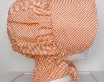 Girls  Woman's  Colonial Pioneer Days Trek  Civil War  Sun Bonnet Ready to Ship