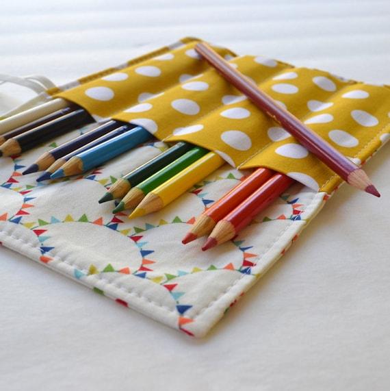 Colored Pencil Case . 12 Colored Pencils by CorinneCitrolo ...
