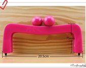 New Colorful Resin Bag purse frame 5 color for choose ( baby pink ,orange,black,white,Hot pink)