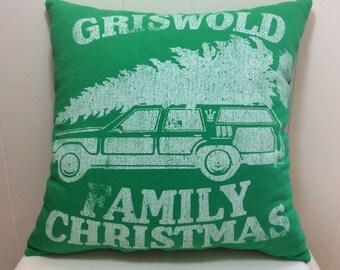 Decorative Pillow, Accent Pillow, Throw Pillow, Holiday Pillow, Green Pillow, Large Pillow, Sofa Pillow, Couch Pillow, Bed Pillow, Christmas