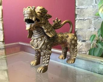 Small Ceramic Asian Dragon