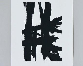 Medium Abstract Sketch #2 Print - Large