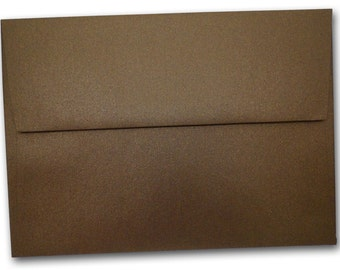 Metallic Bronze A2 Envelopes - 25 pack