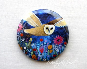 Night Owl - Pocket Mirror