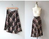 25% OFF : Campus Plaid skirt | vintage 1970s skirt | plaid 70s skirt