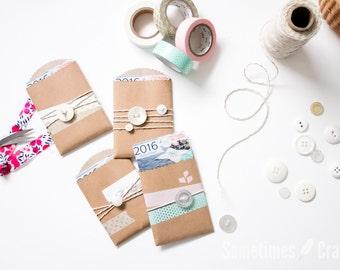 2016 Mini Sewing Calendar