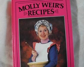 Vintage cookbook, Molly Weir, Scotland, hardback, 1980, 1980s