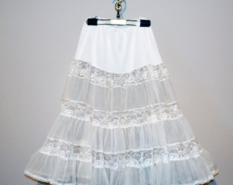 Vintage Lace Crinoline