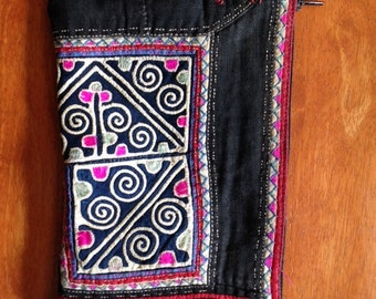 Vintage tribal Hmong pouch